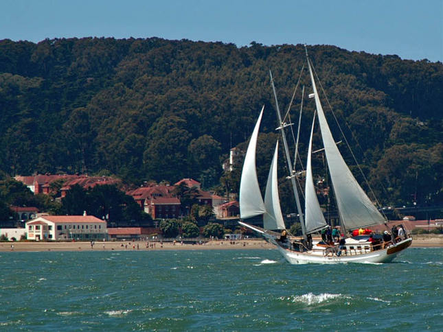 Schooner at Crissy Field
