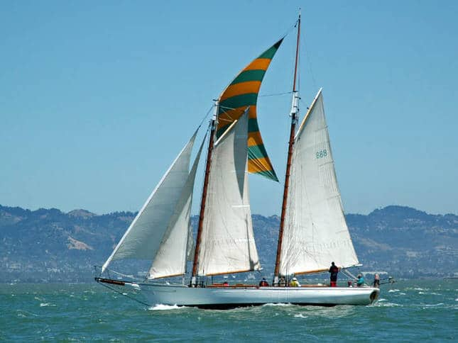 Schooner in Master Mariner's Race