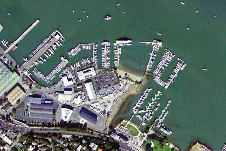 Schoonmaker Point Marina Aerial