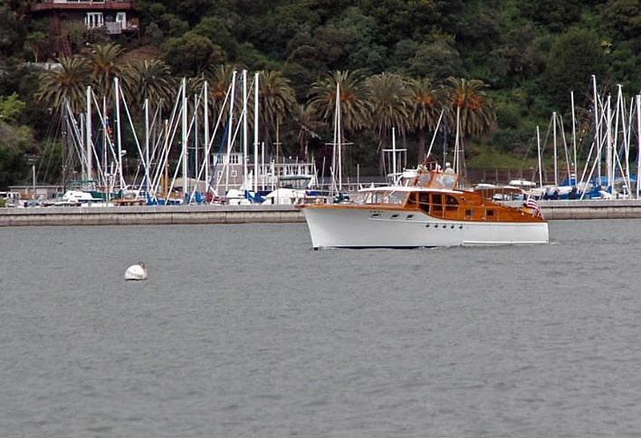 Sea Gal, a 47-foot Stephens Built in 1954