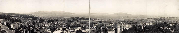 Site of Panama-Pacific Exposition Before Construction