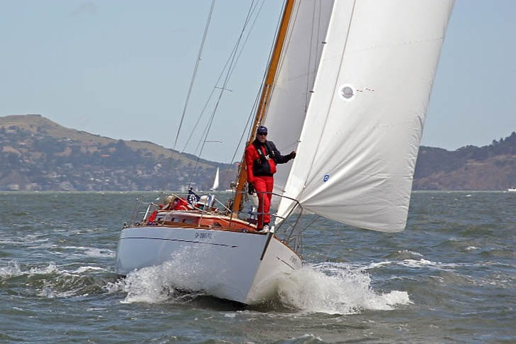 Sloop in Master Mariner's Race
