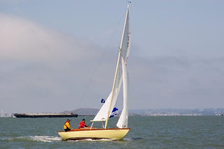 Small Yellow Sailboat