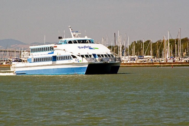 Solano, a High-Speed Ferry Leaving Vallejo