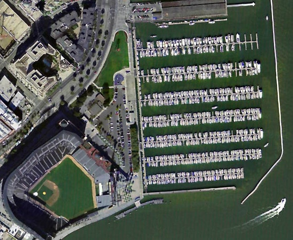 South Beach Harbor and SBC Park