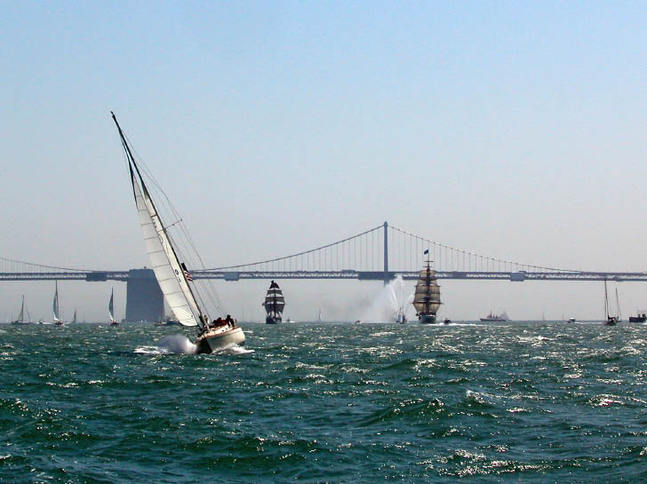 Tall Ships in the Bay