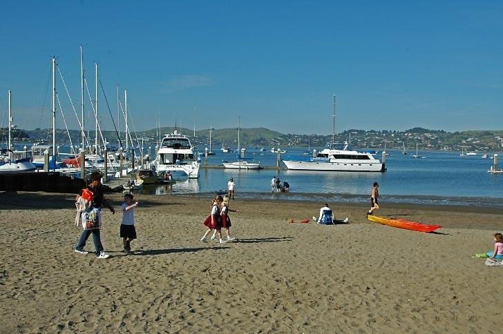 The Beach at Schoonmaker Marina