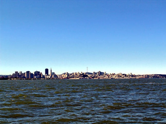 The City as Seen From the Central Bay