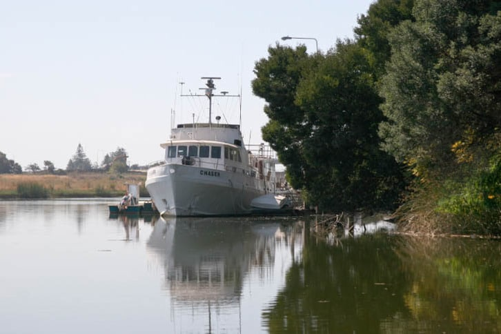 The Napa Valley Sea Scout Troop's 90-foot Chaser