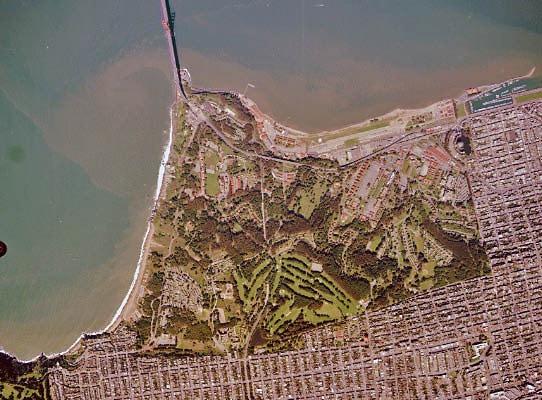 The Presidio Aerial