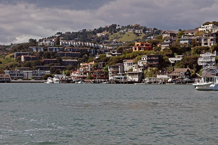 The Tiburon Side of Belvedere Cove
