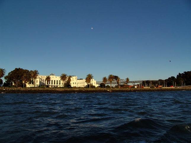 Treasure Island and the Bay Bridge