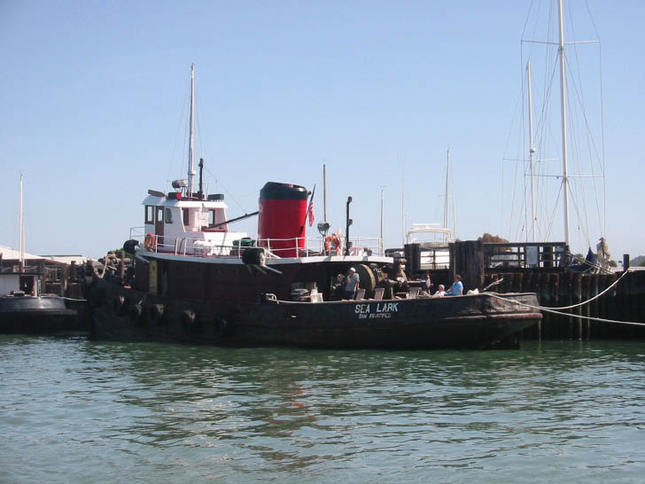 Tug Turned Houseboat in Sausalito
