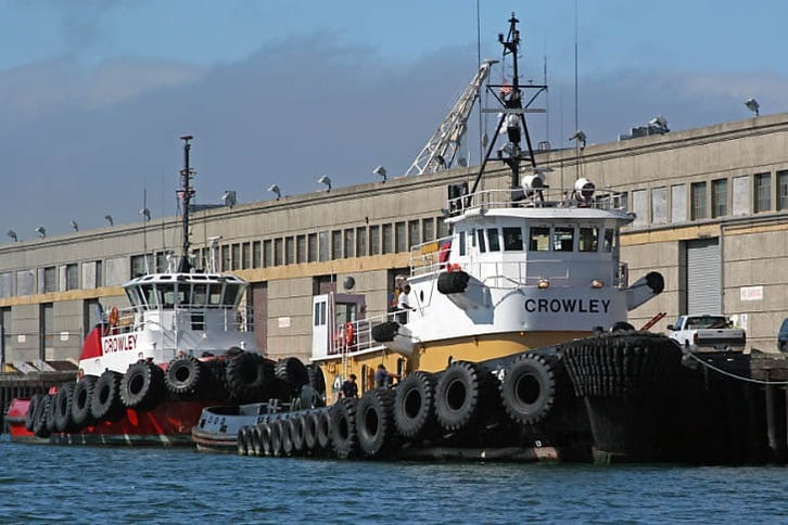 Two Crowley Tugs