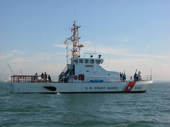 US Coast Guard Small Ship