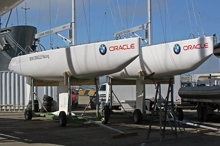 USA 71 and USA 76, BMW Oracle Racing's 24-meter America's Cup Yachts