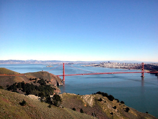 View from the Headlands