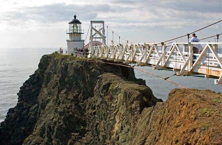 Walkway to Pt. Bonita Lighthouse
