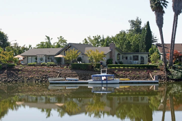 Waterfront Home on Napa River with Electric Launch 'Allegria'