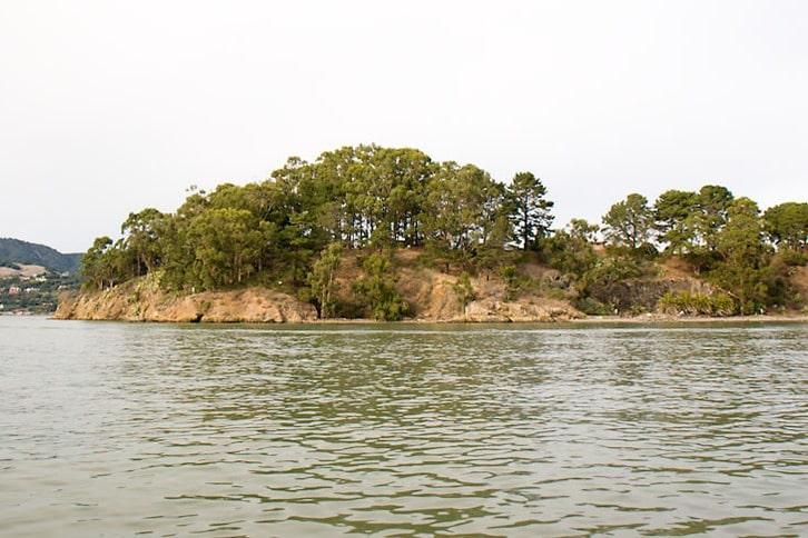 West End of Marin Island