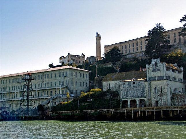 West Side of Alcatraz