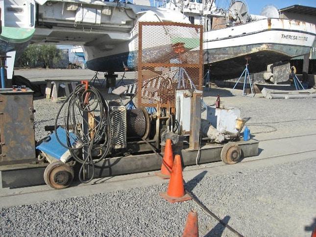 Winch for Marine Railway at Napa Valley Marina