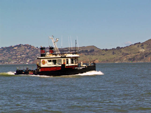 Workboat In The Bay