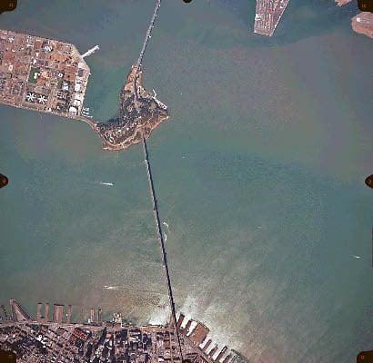 Yerba Buena Island Aerial View