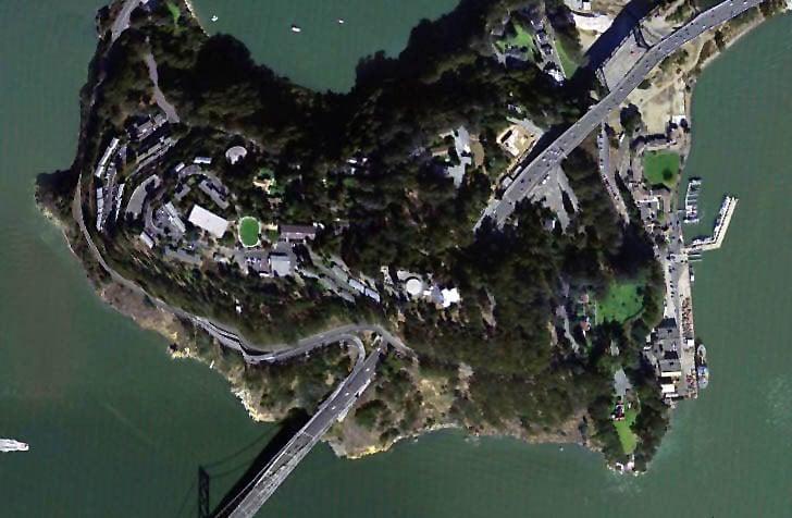 Yerba Buena Island Aerial