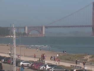 Crissy Field Webcam (East Beach)
