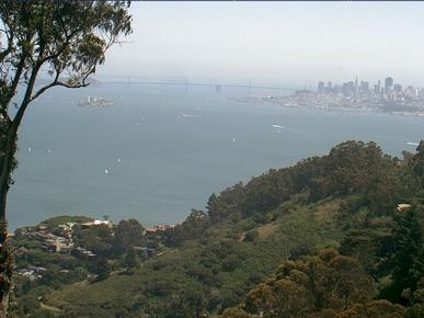 WebMarin Web Cam of San Francisco Bay